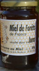 Miel de forêts du Jura - La Ferme au Miel