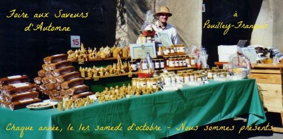 Gelée royale française et miels du Jura - Pouilley-Français