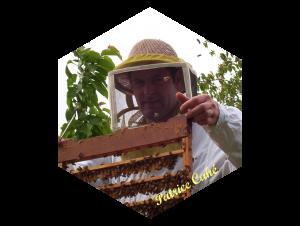 La Ferme au Miel : Patrice Cahé enlève les lattes de gelée royale de ses ruches